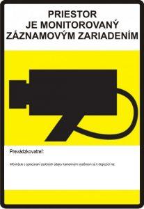 Priestor monitorovaný